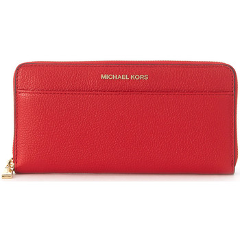 Bags Wallets MICHAEL Michael Kors Mercer wallet in red saffiano leather Red