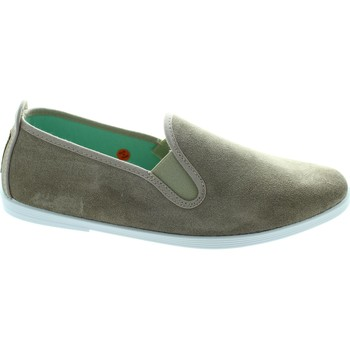 Shoes Women Slip ons Flossy Navarra Stone