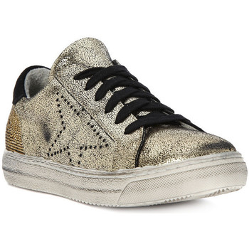 Shoes Women Low top trainers Meline GO  MICROCRACK OLD GOLD    119,3