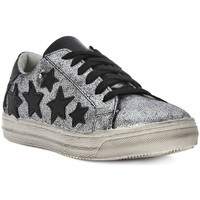 Shoes Women Low top trainers Meline GO MICROCRACK ARGENTO Argento