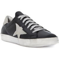 Shoes Men Low top trainers Meline GO VITELLO NERO Nero
