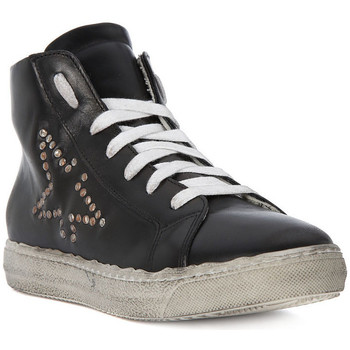 Shoes Men Hi top trainers Meline GO VITELLO NERO Nero