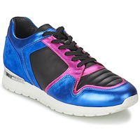 Shoes Women Low top trainers Bikkembergs KATE 420 Blue / Fuschia