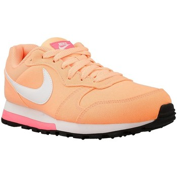 Shoes Women Low top trainers Nike Wmns MD Runner 2 White-Pink-Orange