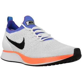 Shoes Men Low top trainers Nike Air Zoom Mariah Flyknit Blue-Orange-White