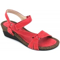 Shoes Women Sandals Walk & Fly 2228-21620 red