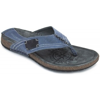 Shoes Men Flip flops Walk & Fly 745-30280 V17 blue
