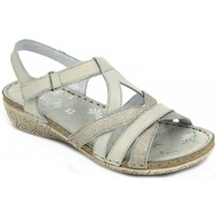 Shoes Women Sandals Walk & Fly 9030-35560 BEIGE