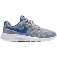 Shoes Children Low top trainers Nike Tanjun Grey-Blue-White