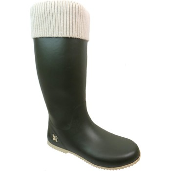Shoes Women Wellington boots Butterfly Twists Windsor Green/Cream Knit