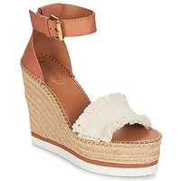 Shoes Women Espadrilles See by Chloé SB28152 Cognac / Beige