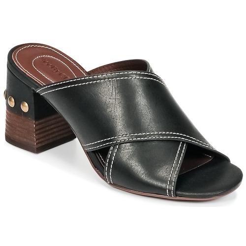 Shoes Women Mules See by Chloé SB30083 Black
