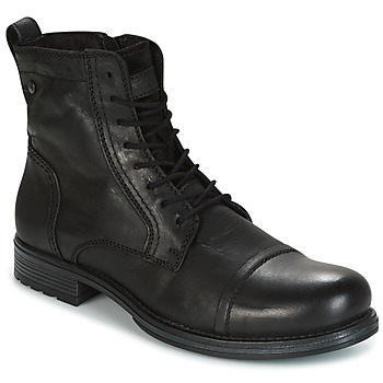 Shoes Men Mid boots Jack & Jones RISSOL ANTHRACITE