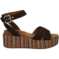 Shoes Women Sandals Wrangler WL171641 Wedge sandals Women Brown Brown