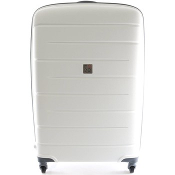 Bags Hard Suitcases Roncato 413482 Medium trolley 4 wheels Luggage White White