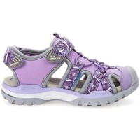 Shoes Sandals Geox J620WB 015AN Sandals Kid Violet Violet