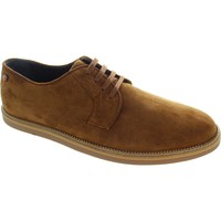 Shoes Men Derby Shoes Frank Wright Turpin Tobacco Suede