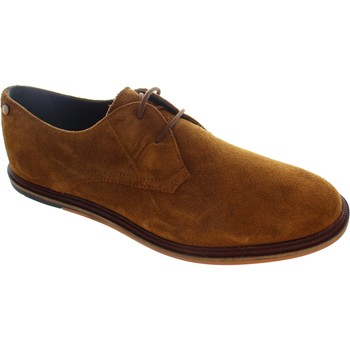 Shoes Men Derby Shoes Frank Wright Burley Tobacco Suede