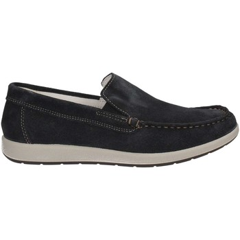 Shoes Men Loafers Enval 7888 Mocassins Man Blue Blue