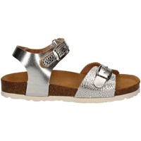 Shoes Girl Sandals Lelli Kelly L17E4584 Sandals Kid Silver Silver