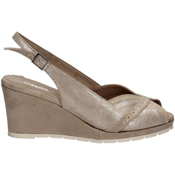 Shoes Women Sandals Cinzia Soft IAB511044-CG Wedge sandals Women Beige Beige