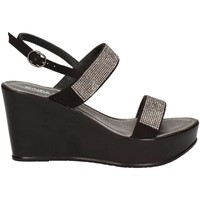 Shoes Women Sandals Cinzia Soft IAD17898-C Wedge sandals Women Black Black
