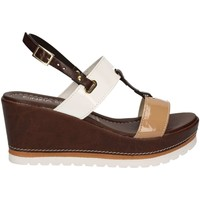 Shoes Women Sandals Cinzia Soft IAS939405 Wedge sandals Women Brown Brown