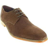 Shoes Men Derby Shoes Gucinari AMP 024 Brown Suede