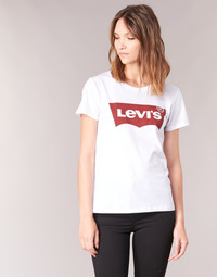 Clothing Women short-sleeved t-shirts Levi's THE PERFECT TEE White