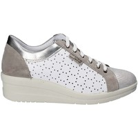 Shoes Women Low top trainers Enval 7958 Sneakers Women Silver Silver