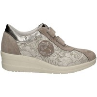 Shoes Women Low top trainers Enval 7960 Sneakers Women Grey Grey