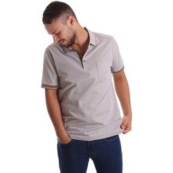 Clothing Men short-sleeved polo shirts Navigare NV72007 Polo Man Beige Beige