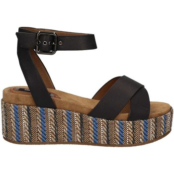 Shoes Women Sandals Wrangler WL171641 Wedge sandals Women Blue Blue