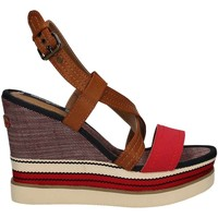 Shoes Women Sandals Wrangler WL171664 Wedge sandals Women Red Red