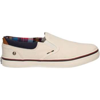 Shoes Men Slip ons Wrangler WM171011 Slip-on Man White White
