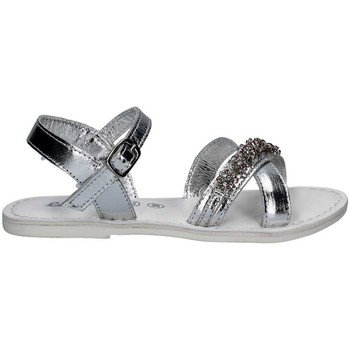 Shoes Sandals Lulu' Lulu' LT350001L Sandals Kid Silver Silver