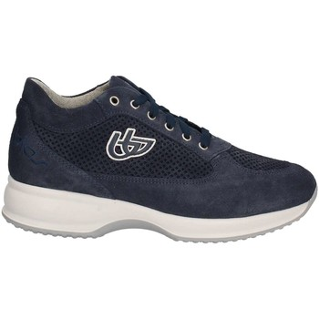 Shoes Women Low top trainers Byblos Blu 672002 Sneakers Women Blue Blue