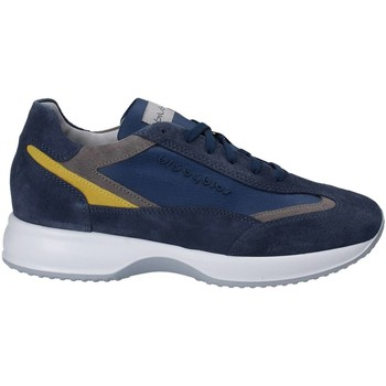 Shoes Men Low top trainers Byblos Blu 672053 Shoes with laces Man Blue Blue