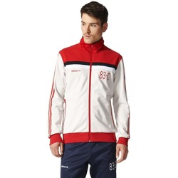Clothing Men Track tops adidas Originals 83C Tracktop Red-White