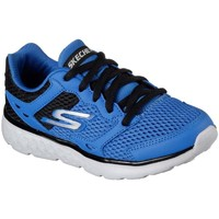 Shoes Boy Low top trainers Skechers GO Run 400 Lace Boys Sports Trainers blue