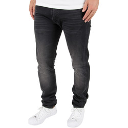 Clothing Men straight jeans Edwin Men's ED-85 Slim Tapered Drop Crotch Jeans, Black black
