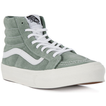 Shoes Women Hi top trainers Vans SK8 HI HI SLIM Blu