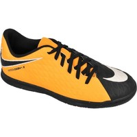 Shoes Children Low top trainers Nike Hypervenomx Phade Iii IC JR Black-Yellow