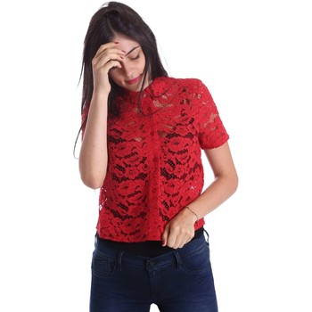 Clothing Women Shirts Liu Jo W17128T9373 Shirt Women Red Red