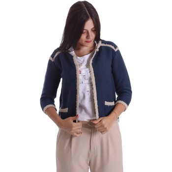 Clothing Women Jackets / Blazers Liu Jo W17179MA88E Jacket Women Blue Blue