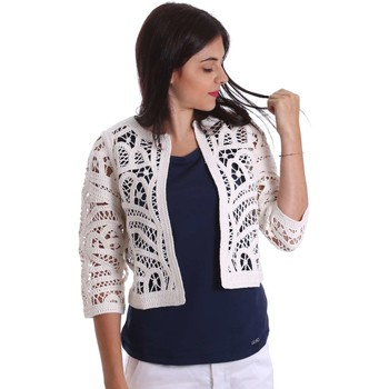Clothing Women Jackets / Blazers Liu Jo F17129MA28F Cardigan Women White White