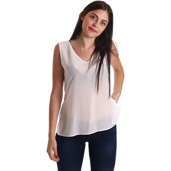Clothing Women Tops / Blouses Liu Jo F17187J0973 Blusa Women White White