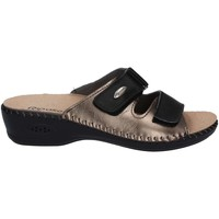 Shoes Women Mules Riposella 6427 Sandals Women Black Black
