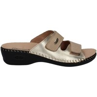 Shoes Women Mules Riposella 6427 Sandals Women Beige Beige