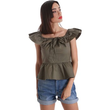 Clothing Women Shirts Denny Rose 73DR24000 Shirt Women Verde Verde
